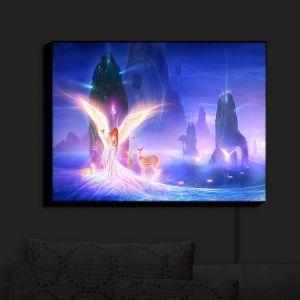 Nightlight Sconce Canvas Light | Philip Straub - Ooulana | spiritual angel nature fantasy