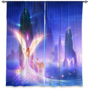 Decorative Window Treatments | Philip Straub - Ooulana | spiritual angel nature fantasy