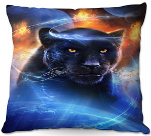 Decorative Outdoor Patio Pillow Cushion | Philip Straub - Panther