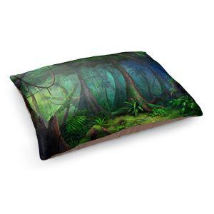 Decorative Dog Pet Beds | Philip Straub - Rainforest | landscape nature jungle tree