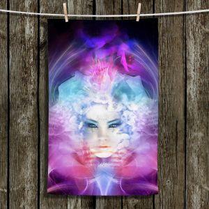 Unique Hanging Tea Towels   Philip Straub - Rebirth   Celestial Inspiring Spiritual