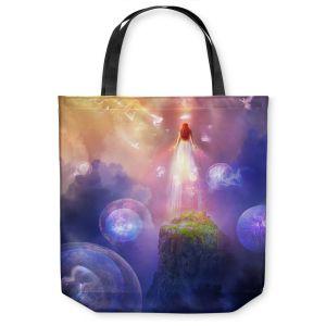 Unique Shoulder Bag Tote Bags | Philip Straub The Aaberesha of LeaLinnia