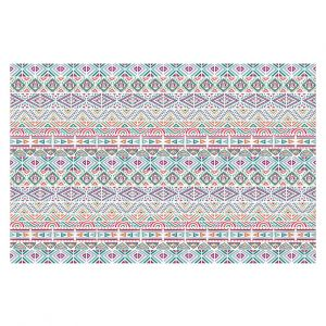 Decorative Floor Covering Mats | Pom Graphic Design - African Dreams | Pattern tribal native pastel