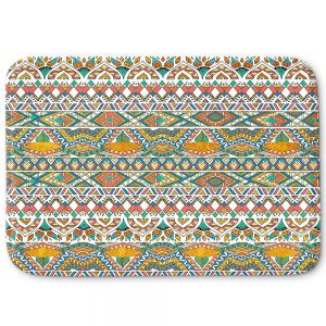 Decorative Bathroom Mats | Pom Graphic Design - Egyptian Tribals | Egypt pattern