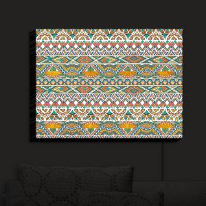 Nightlight Sconce Canvas Light | Pom Graphic Design - Egyptian Tribals