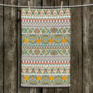Unique Hanging Tea Towels | Pom Graphic Design - Egyptian Tribals | Egypt pattern