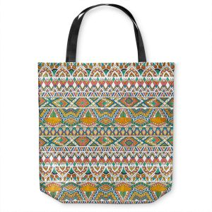 Unique Shoulder Bag Tote Bags | Pom Graphic Design - Egyptian Tribals | Egypt pattern