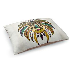 Decorative Dog Pet Beds | Pom Graphic Design's Emperor Tribal Lion I