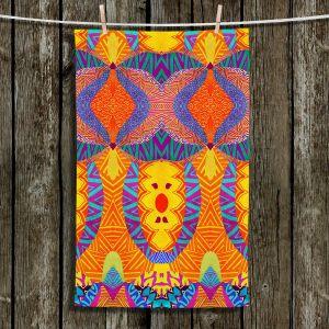 Unique Bathroom Towels | Pom Graphic Design - Ethnic Sun I