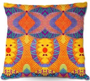 Throw Pillows Decorative Artistic   Pom Graphic Design Ethnic Sun I