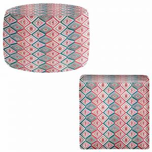 Round and Square Ottoman Foot Stools | Pom Graphic Design - Ethnicity