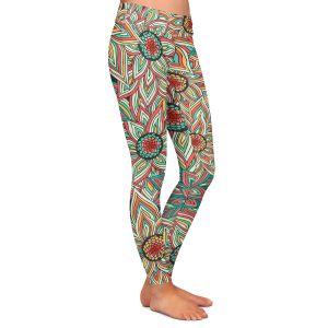 Casual Comfortable Leggings   Pom Graphic Design Floral Epoque