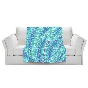 Artistic Sherpa Pile Blankets   Pom Graphic Design Flying Feathers