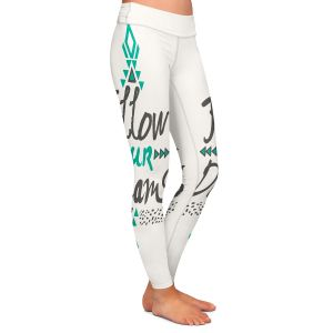 Casual Comfortable Leggings | Pom Graphic Design Follow Your Dreams