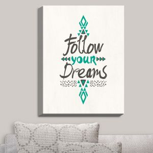 Decorative Canvas Wall Art | Pom Graphic Design - Follow Your Dreams