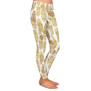 Casual Comfortable Leggings | Pom Graphic Design - Free Spirit