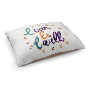 Decorative Dog Pet Beds | Pom Graphic Design - I Can and I WIll