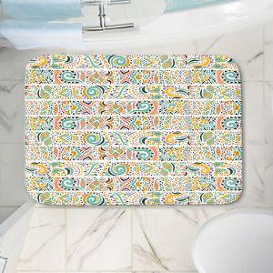 Decorative Bathroom Mats | Pom Graphic Design - Jungle Doodles | animal nature pattern