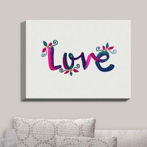 Decorative Canvas Wall Art | Pom Graphic Design - Love | Quotes Inspiring