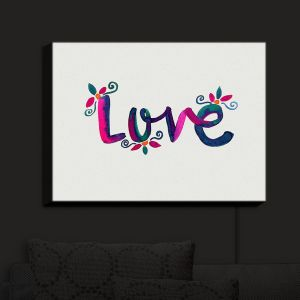 Nightlight Sconce Canvas Light | Pom Graphic Design - Love | Quotes Inspiring