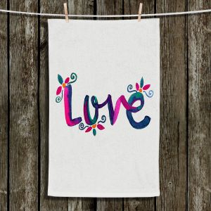 Unique Hanging Tea Towels | Pom Graphic Design - Love | Quotes Inspiring
