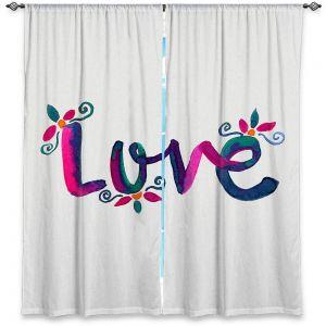Decorative Window Treatments | Pom Graphic Design - Love