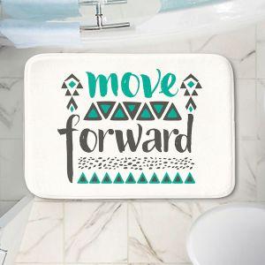 Decorative Bathroom Mats | Pom Graphic Design - Move Forward