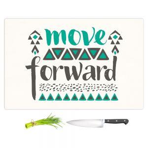 Artistic Kitchen Bar Cutting Boards | Pom Graphic Design - Move Forward