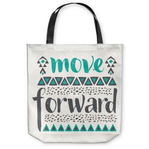 Unique Shoulder Bag Tote Bags | Pom Graphic Design Move Forward
