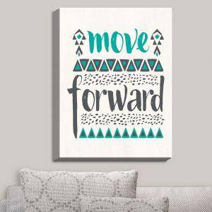 Decorative Canvas Wall Art | Pom Graphic Design - Move Forward