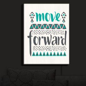 Nightlight Sconce Canvas Light | Pom Graphic Design - Move Forward