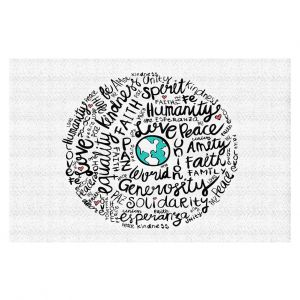 Decorative Floor Coverings | Pom Graphic Design - Positive Messages