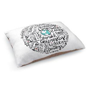 Decorative Dog Pet Beds   Pom Graphic Design - Positive Messages