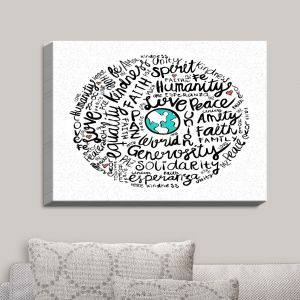 Decorative Canvas Wall Art | Pom Graphic Design - Positive Messages | Quotes Inspiring