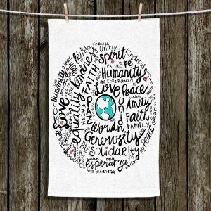 Unique Hanging Tea Towels | Pom Graphic Design - Positive Messages | Quotes Inspiring