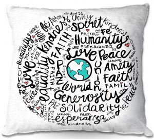 Throw Pillows Decorative Artistic   Pom Graphic Design - Positive Messages