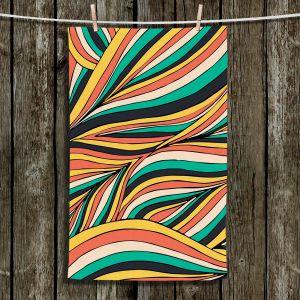Unique Hanging Tea Towels | Pom Graphic Design - Retro Movement | Patterns