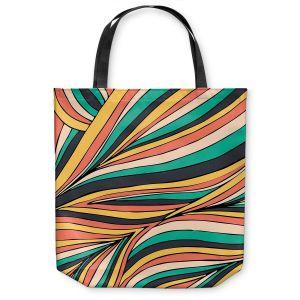Unique Shoulder Bag Tote Bags | Pom Graphic Design Retro Movement