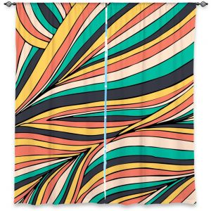 Decorative Window Treatments | Pom Graphic Design Retro Movement
