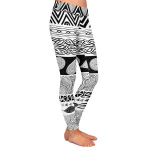 Casual Comfortable Leggings | Pom Graphic Design Tribal and Nature Play