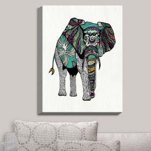 Decorative Canvas Wall Art | Pom Graphic Design - Visionary Elephant