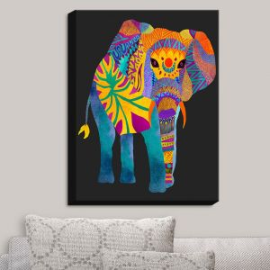 Decorative Canvas Wall Art | Pom Graphic Design - Whimsical Elephant II