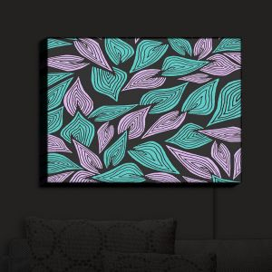 Nightlight Sconce Canvas Light | Pom Graphic Design - Winter Wind