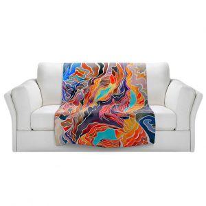 Artistic Sherpa Pile Blankets | Rachel Brown - Antelope Canyon