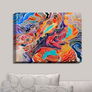 Decorative Canvas Wall Art | Rachel Brown - Antelope Canyon