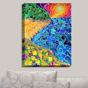 Decorative Canvas Wall Art | Rachel Brown - Big Sur