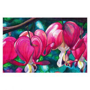 Decorative Floor Coverings | Rachel Brown - Bleeding Hearts