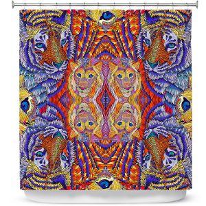 Premium Shower Curtains | Rachel Brown - Cataclysmic