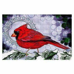 Decorative Floor Coverings   Rachel Brown Cosmo Cardinal