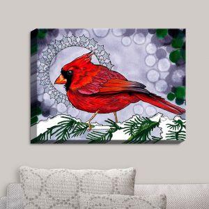 Decorative Canvas Wall Art | Rachel Brown - Cosmo Cardinal